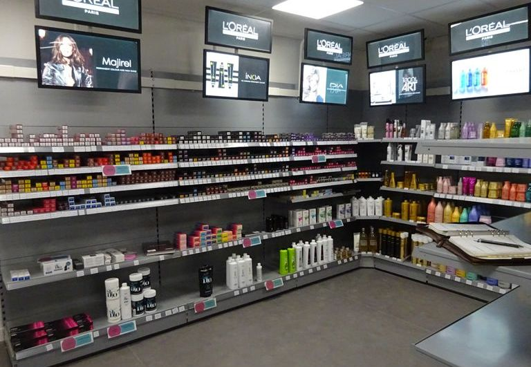 Retail Shelving For Salon Supplies Limited