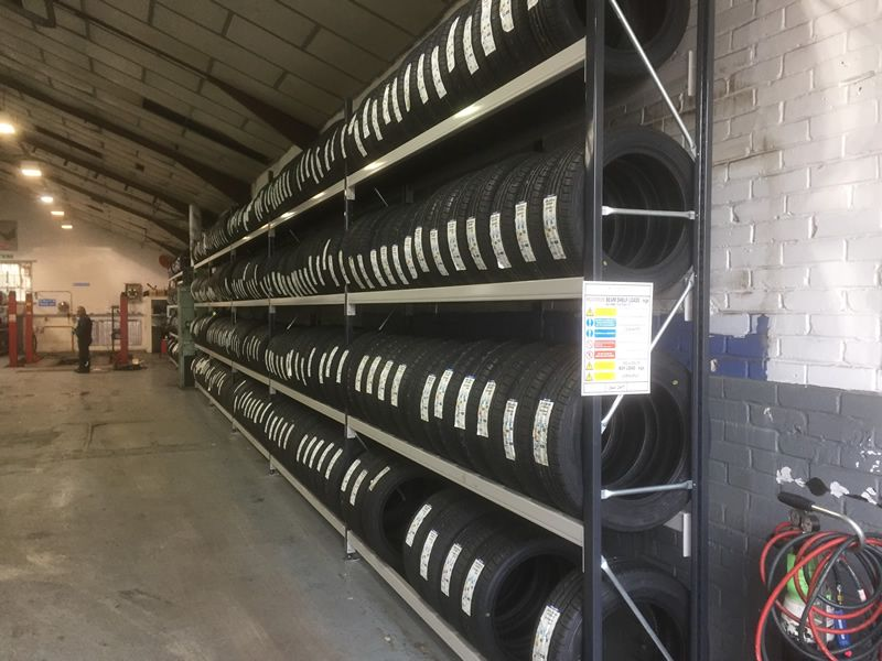 Tyre Racking Project For Hampshire Tyre Depot-03
