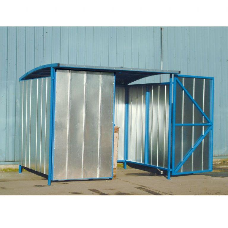 external storage galvanised pallet racking ibc storage